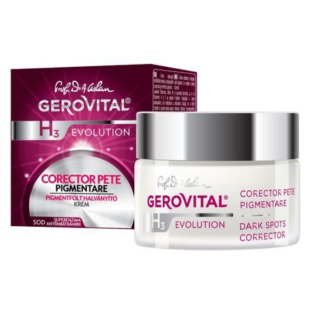 Gerovital H3 Men Evolution - Corector Pete Pigmentare 50ml 5943000075065